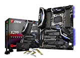 MSI X299 GAMING PRO CARBON AC, LGA 2066, DDR4,  2x Turbo M.2 & 11x USB 3.1(3x Gen2 & 8x Gen1)